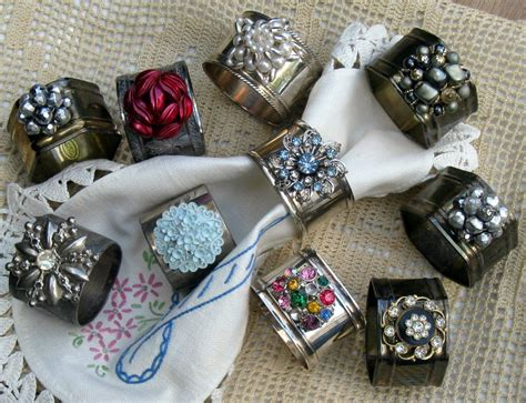 refurbished silver plate napkin rings mitzi s miscellany