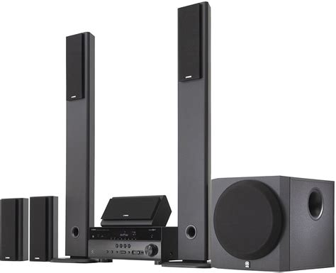 yamaha home theater surround sound system on home theater