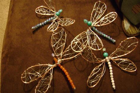 craft wire projects wire dragonflies 183 how to make a wire model 183
