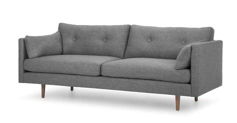 article anton sofa review anton gravel gray sofa sofas article modern mid