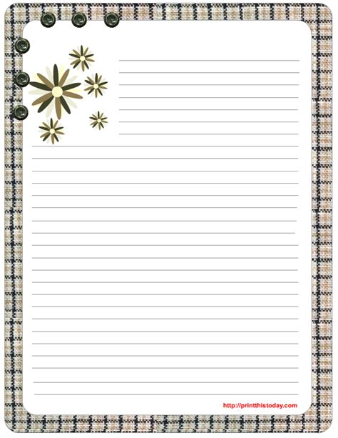 Free Printable Stationery Templates free s day stationery printables