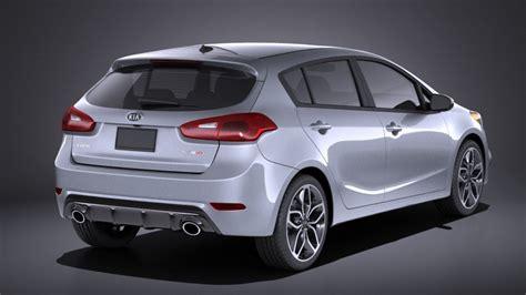 2016 Kia Hatchback Kia Forte Hatchback 5door 2016 Vray 3d Model Cgstudio