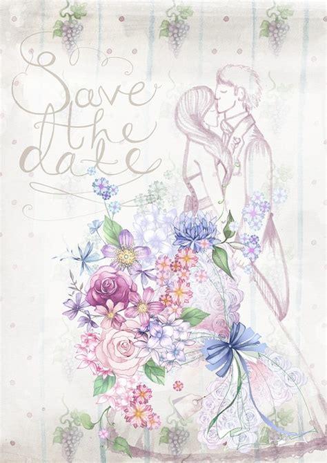 Hochzeitseinladung Zeichnung by Karten Hochzeit Einladung Vorlagen