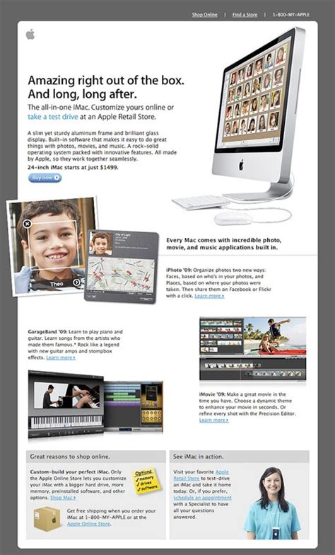 apple newsletter templates
