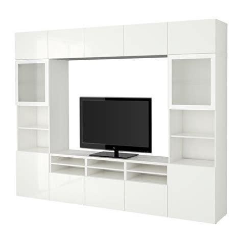 besta tv storage combination best 197 tv storage combination glass doors white selsviken
