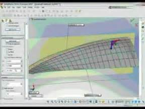 Building Design Software For Mac how to design a boat hull in solidworks free form demo