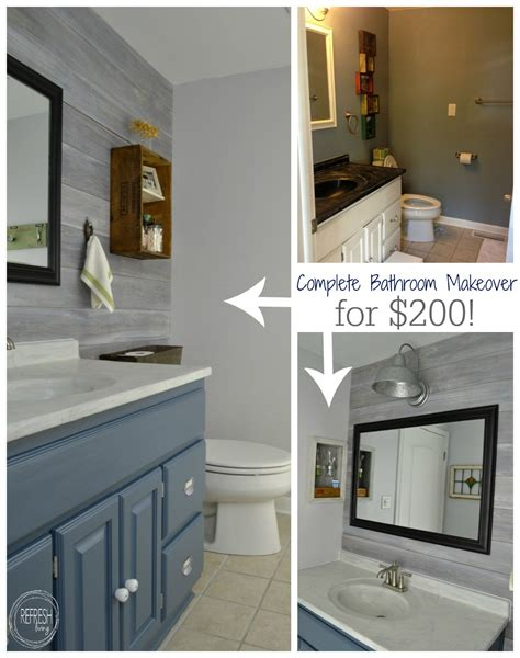 Bathroom Makeovers On A Budget by Vintage Rustic Industrial Bathroom Reveal Upstairs