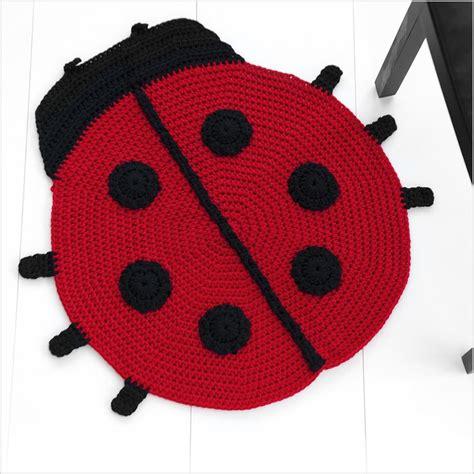 Ladybug Rug by Animal Shaped Handmade Rugs