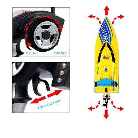 qi boat vs ship new wltoys wl911 4ch 2 4g high speed racing rc boat rtf