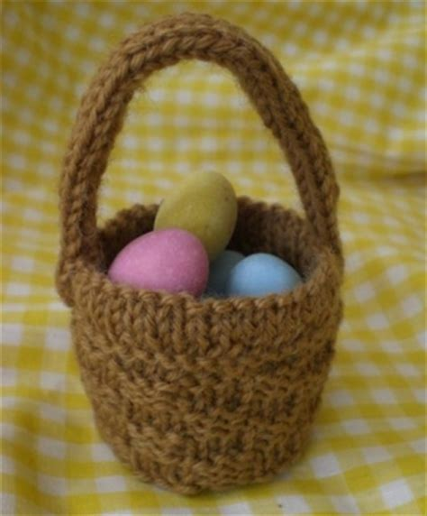 free knitted easter basket patterns free basket patterns lena patterns