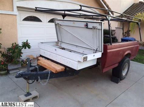 truck bed trailer cer armslist for sale pickup bed utility trailer