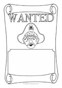 Treasure Map Template Ks1 by Wanted Poster Writing Frames And Printable Page Borders