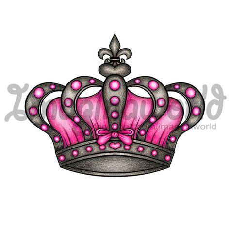 queen tattoo flash queens crown tattoo by imaginaworld deviantart com on
