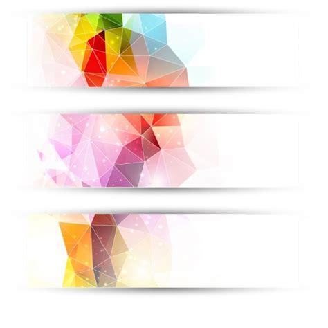 imagenes vectores de triangulos cabeceras de triangulos coloridos 1048 855 jpg