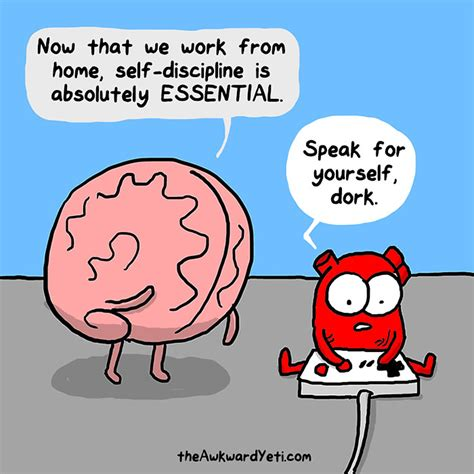 and brain an awkward yeti collection vs brain webcomic shows constant battle