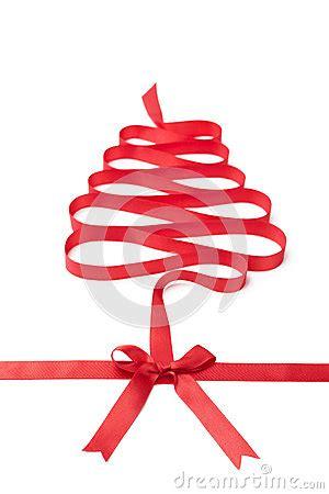 happy holiday tree ribbon the spiral ribbon looks as tree royalty free stock photos image 28980278