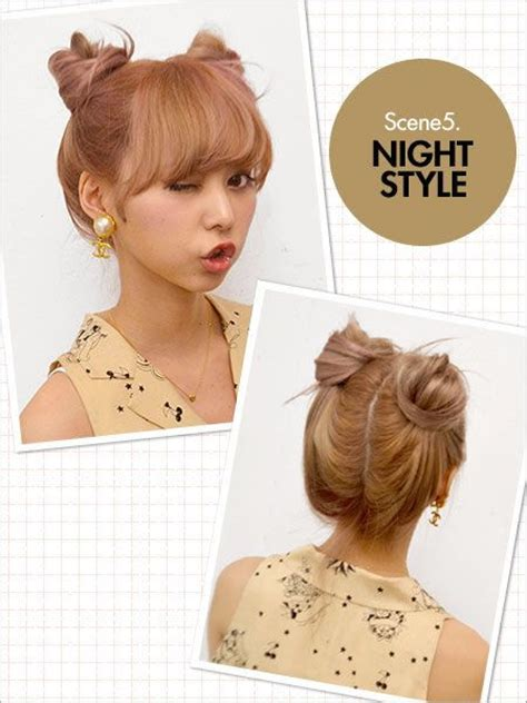 asian hairstyles buns pinterest the world s catalog of ideas