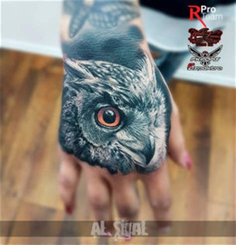 owl tattoo designs on hand animal tattoos best tattoo ideas designs part 3