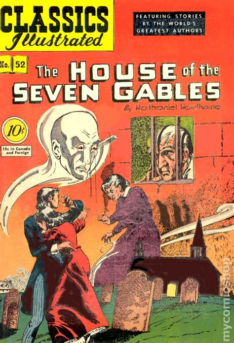 the house of the seven gables book classics illustrated 052 the house of seven gables 1948 comic books