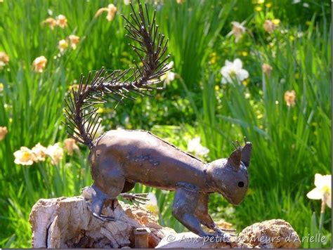 deco en fer pour jardin fer rouill 233 m 233 tal fer forg 233 une nouvelle tendance au jardin aux petits bonheurs d arielle