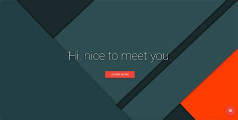 material design ideas brilliant portfolio website that follows material design trend