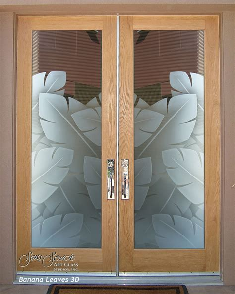Entry Glass Door Frosted Glass Front Doors Sans Soucie Glass