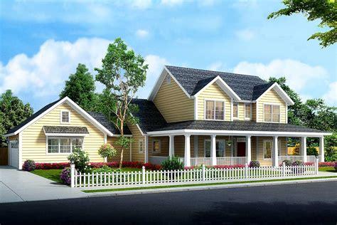 farm house plans budget friendly 4 bed country farmhouse plan 52285wm architectural designs house plans