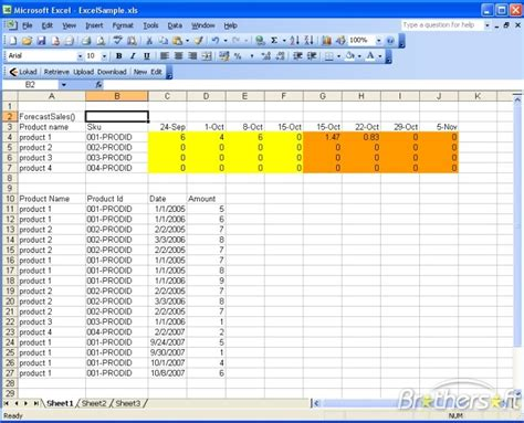 free sales forecast template free lokad excel sales forecasting lokad excel