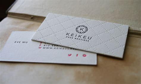 how to make letterpress cards letterpress business cards halo design studios