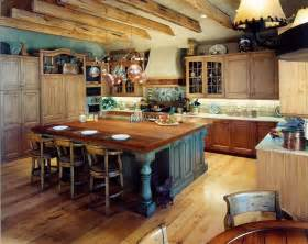 Rustic Kitchen Island Ideas Custom Rustic Mountain Kitchen Amp Dining By Cabinets