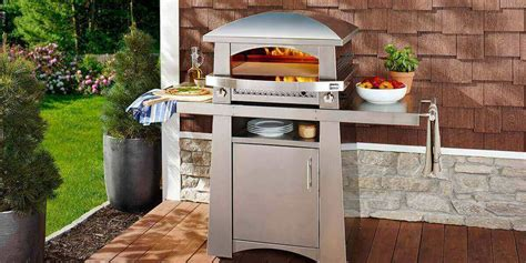 Kitchen With Pizza Oven by Outdoor Pizza Ovens Kalamazoo Outdoor Gourmet