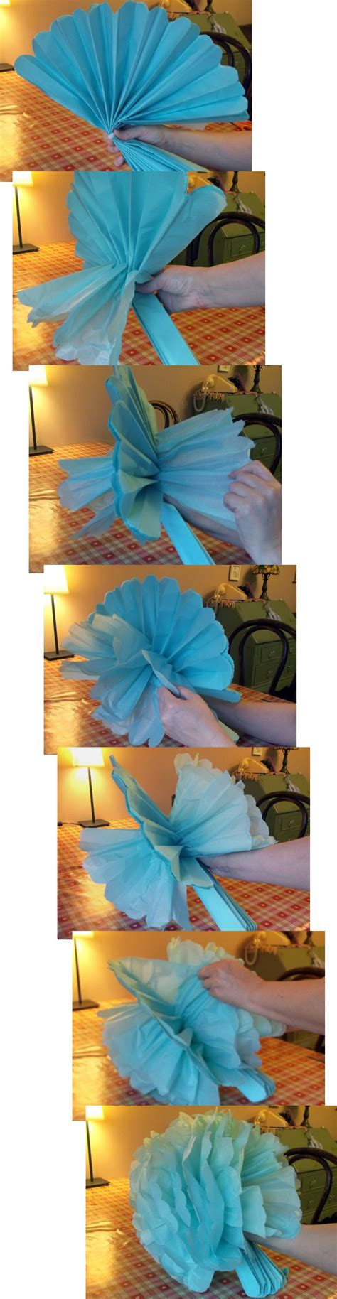Things You Can Make With Tissue Paper - things to make and do tissue paper pom poms