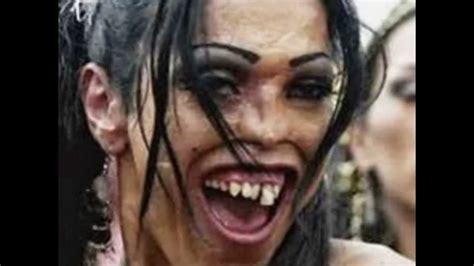 imagenes de locas feas los rostros mas feos del mundo youtube