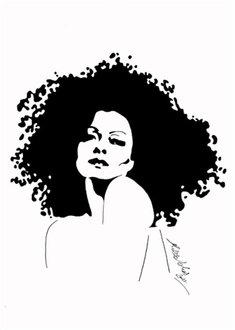 drawing images for diana ross drawing