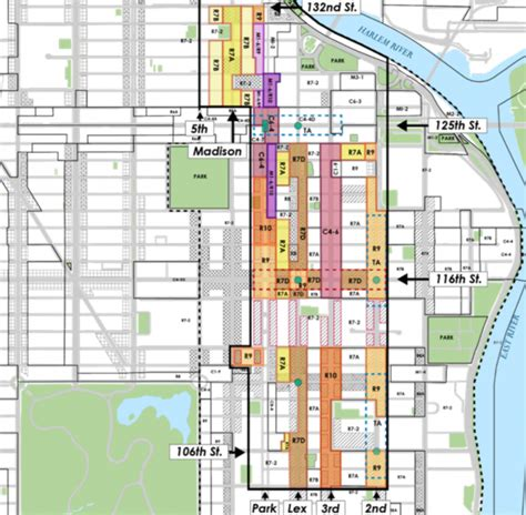 Northeastern Housing Floor Plans by Initial East Harlem Rezoning Plan Promises 30 Story Towers