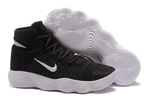 Sepatu Basket Nike Hyperdunk 2017 High Flyknit Black high end product nike hyperdunk 2017 flyknit black white s basketball shoes shoesextra
