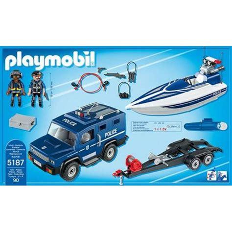 goedkope speedboot goedkoop playmobil politietruck met speedboot 5187 kopen
