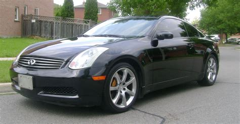 i have an 03 g35 coupe 6mt recently i depressed the fs 03 black g35 coupe 6mt brembo stock nav lots of