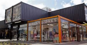 Home Design Stores Nz by Shipping Containers Re Start Shopping Mall Christchurch