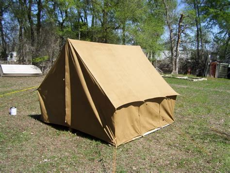 canvas wall tent making life out west better vintage tent summit pinterest tents
