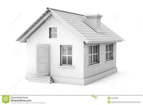 home design 3d zweiter stock real estate konzept haus 3d stock abbildung bild 40223200