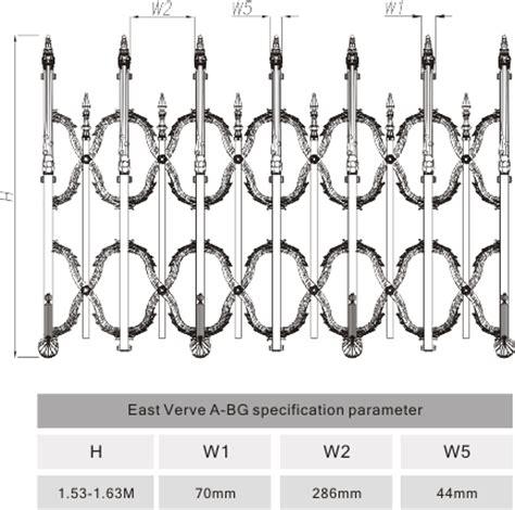 Bubuk Khusus Powder Coating diupgrade aluminium pedoman jalan keamanan gates untuk