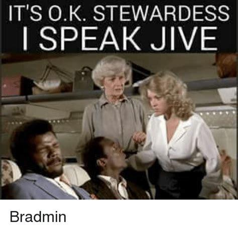 I Get It Meme - it s ok stewardess i speak jive bradmin meme on sizzle