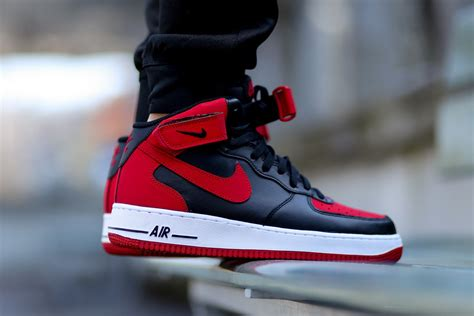 bred by a nike air 1 mid bred sneaker bar detroit