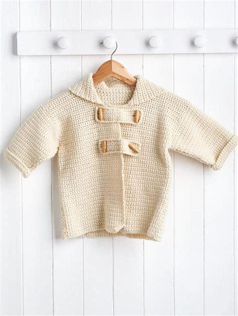 pattern child s lab coat kid s duffle coat crochet pattern