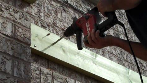 how to attach deck to house one exle of how to attach your deck to your house wmv youtube