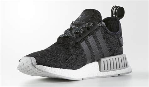 Sepatu Sneakers Adidas Nmd Black Grey adidas nmd r1 black grey two cq0759 sneakernews