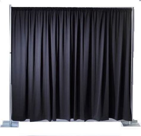 black draping rent pipe and drape at all seasons rent all