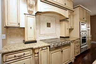 good Antique White Cabinets With Glaze #1: Glazed-Kitchen-Cabinets-Pictures-1.jpg
