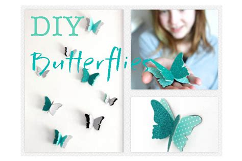 how to make room decorations how to diy butterfly wall decals decorations that